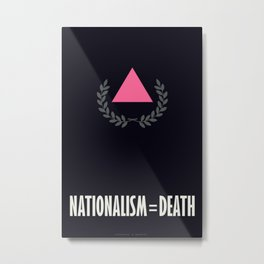 Nationalism = Death Metal Print