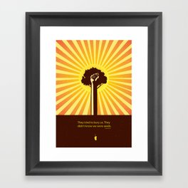 Mexican Proverb Framed Art Print
