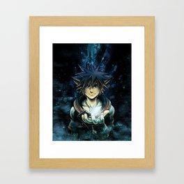 Embrace your heart Framed Art Print