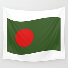 bangladesh flag Wall Tapestry