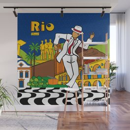 Rio Bohemia Wall Mural