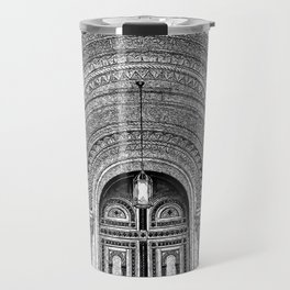 Masonic Temple.  Travel Mug