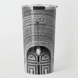 Masonic Temple.  Travel Mug