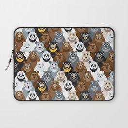 Bears Bears Bears Laptop Sleeve