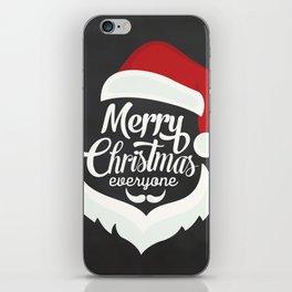 Merry Cristmas iPhone Skin