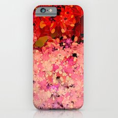 Two Different Worlds -- Floral Pattern Slim Case iPhone 6