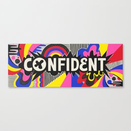 Confident Canvas Print