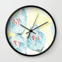 flower III Wall Clock