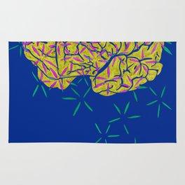 Floral Brain Rug
