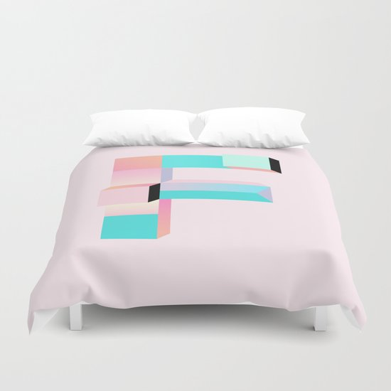 Friking F Duvet Cover