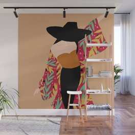 Kimono girl Wall Mural