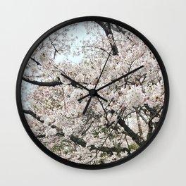 Sakura-Cherry Blossom Wall Clock