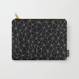 Low Pol Mesh (negative) Carry-All Pouch