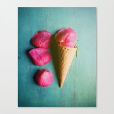 One Scoop or Two Canvas Print