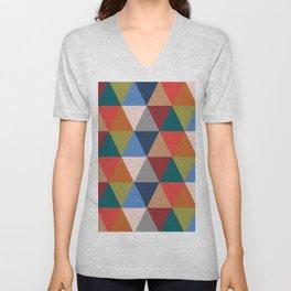 Geometric No.2 Unisex V-Neck