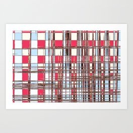 Abstract Coleus Art Print