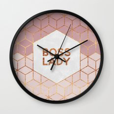 Boss Lady / 2 Wall Clock