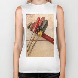 Screwdrivers and Wrench-2 Biker Tank