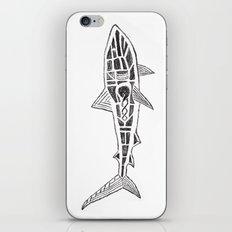 Shark Twist iPhone & iPod Skin