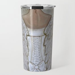 Her Morning Elegance ~Angel with Corset Travel Mug