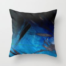 FADETWOBLACK Throw Pillow