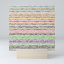 Dashed Lines Experience Mini Art Print