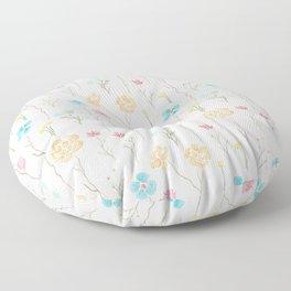 Wildflower Field Floor Pillow