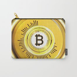 Bitcoin Glow Carry-All Pouch