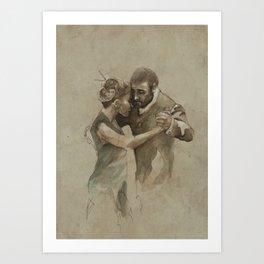 [La dance] Art Print