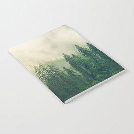 Forest Fog Nature Notebook