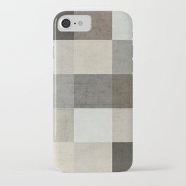 color block - gray iPhone Case