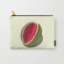 Watermelon Roses Carry-All Pouch