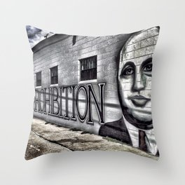Prohibition Throw Pillow