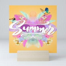 Pink Summer Mini Art Print
