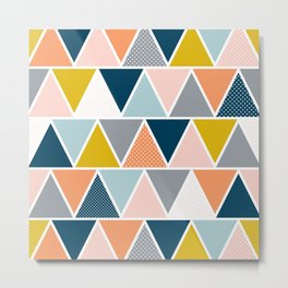 Triangulum Retreat Metal Print