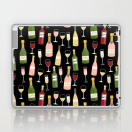Rose drinks champagne wine bar art food fight apparel and gifts Laptop & iPad Skin