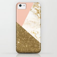 Gold marble collage Slim Case iPhone 5c