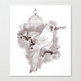 Key to Freedom Canvas Print