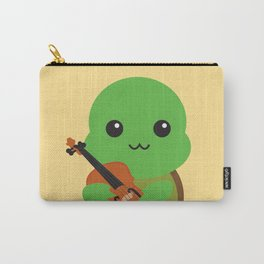 Violinist Turtle Carry-All Pouch