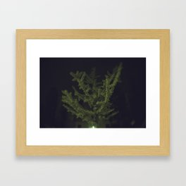 Yellow Explosion Framed Art Print