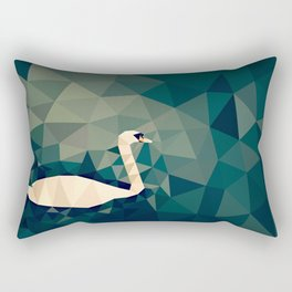 Cygnus olor Rectangular Pillow