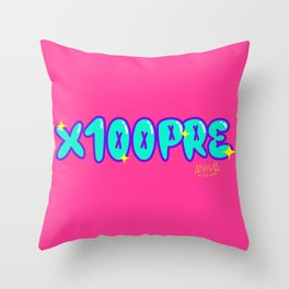 X100PRE Throw Pillow
