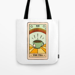 That's the TEA, sis tarot card Tote Bag