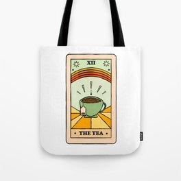 That's the TEA, sis tarot card Tote Bag