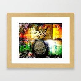 """""""Mommy's Little Monster"""" Framed Art Print"""