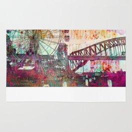 Sydney Luna Park Ferris Wheel Rug