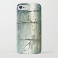 sailboat iPhone & iPod Cases featuring Sailboat by Fine2art