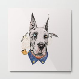 Mr. Great Dane Metal Print