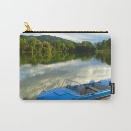 Motor boat on the lake Carry-All Pouch