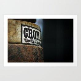Primordial Crom* Art Print